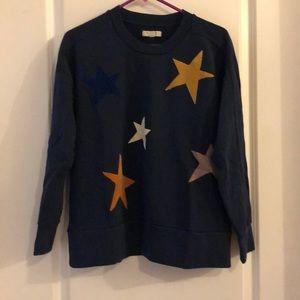 Madewell starry sweatshirt. Medium.